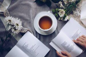 fleur et café